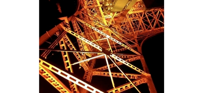 Photo of the day: Tokyo Tower, Extreme Closeup