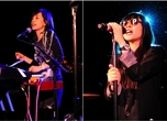 Cibo Matto, onstage at Le Poisson Rouge, New York. Photos by Kevin Mazur