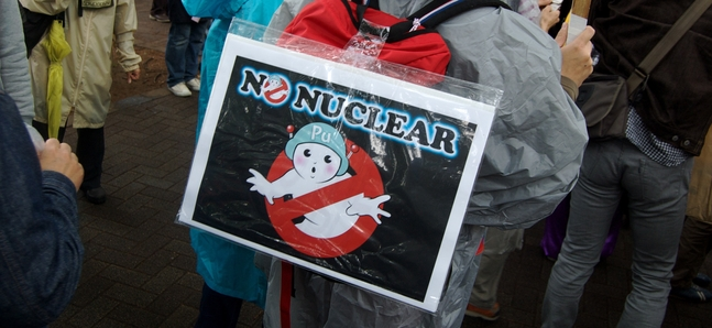 Photo gallery: Stop Nuclear Power Demo
