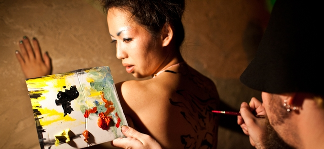 Photo gallery: Tokyo body painting