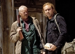 David Morse and Nicolas Cage star in Drive Angry. Photo by Ron Batzdorf