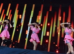Perfume perform on the Grass Stage at Rock in Japan Festival 2012