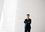 Tokujin Yoshioka, lit by his work 'Crystallize'