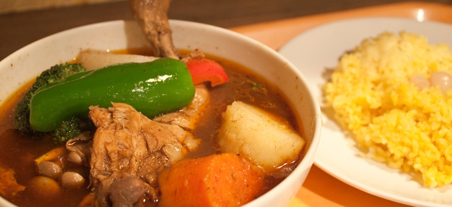 Tokyo's best soup curry