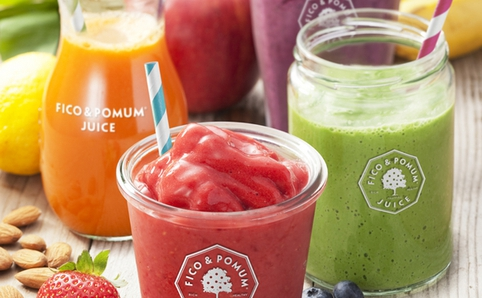 Healthy juice and smoothie bars