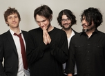 Josh Klinghoffer (2nd from left) with Dot Hacker band members