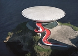 Contemporary Art Museum, Niteroi, Photo: Leonardo Finotti